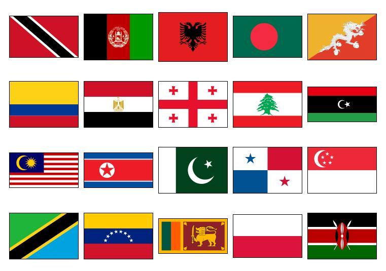 Banderas de Países 3 (JetPunk)