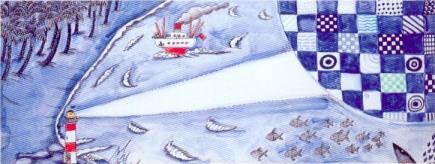 que cantem les ones, els vaixells, els peixos, els fars i la costa