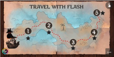 Escape Room Infantil: Travel with Flash