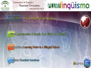 Materiales bilingües para Matemáticas, Física y Química