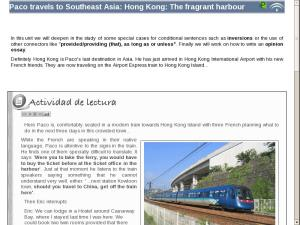 Paco travels to Southeast Asia: Hong Kong: The fragrant harbour