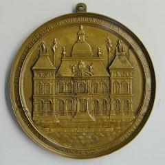 Medalla conmemorativa de la primera piedra del Hôtel de Ville de Lyon