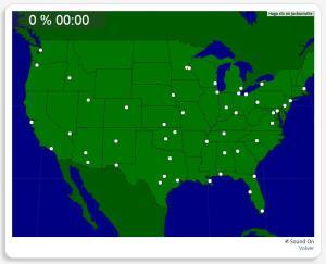 USA: Städte. Seterra