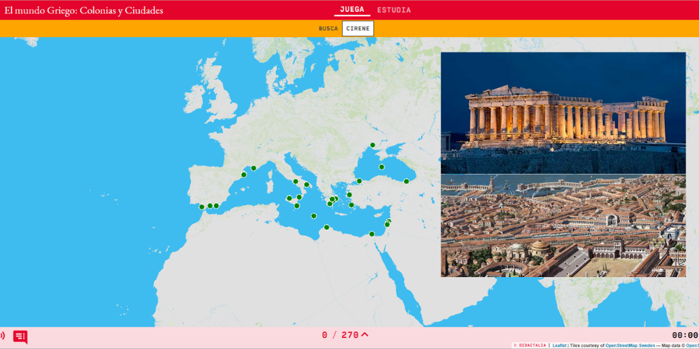 O mundo grego: colonias e cidades