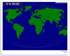 Les régions du monde. Seterra