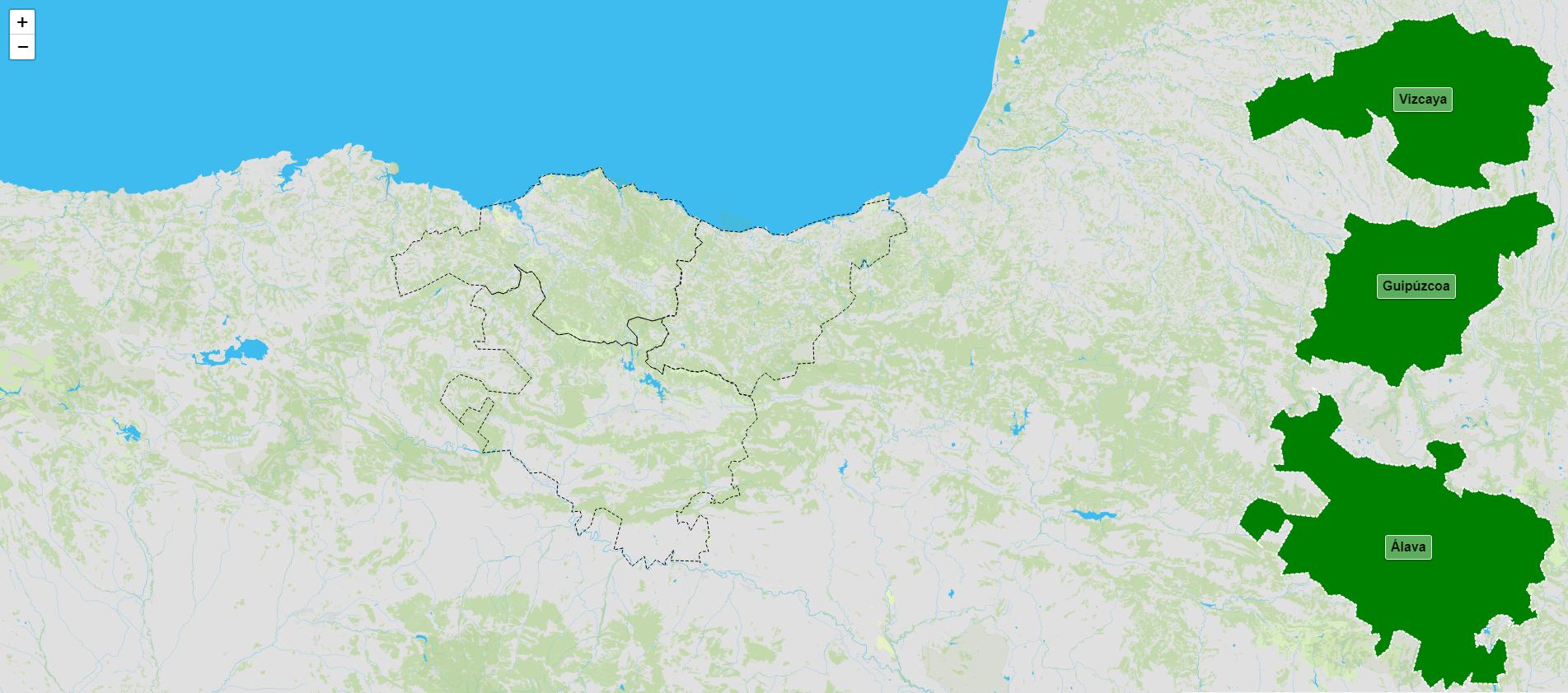 Provincias del País Vasco