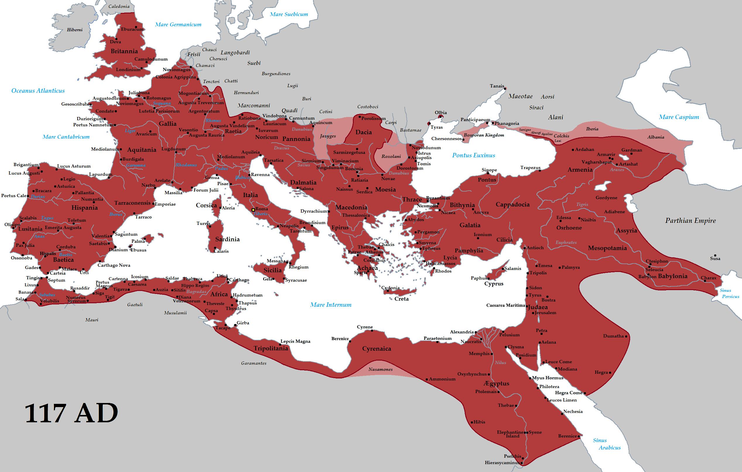 Emperadors romans per dinasties