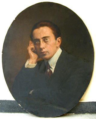 Retrato de Rodolfo Gache, hijo de Paula Florido