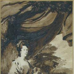 Elisabeth, duquesa de Buccleuch y su hija Lady Scott