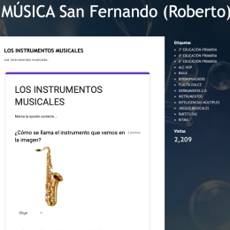 Blog de Música del San Fernando de Nájera