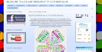 "Blog de ""La Clase Molona de 3º A"""