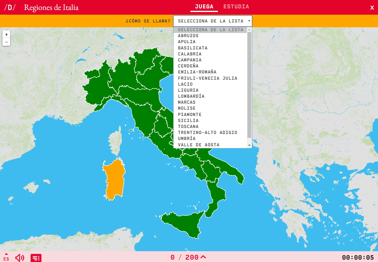 Regions d'Itàlia
