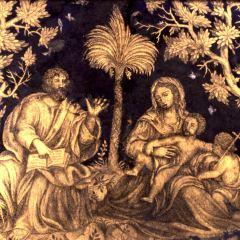 La Sagrada Familia con San Juanito