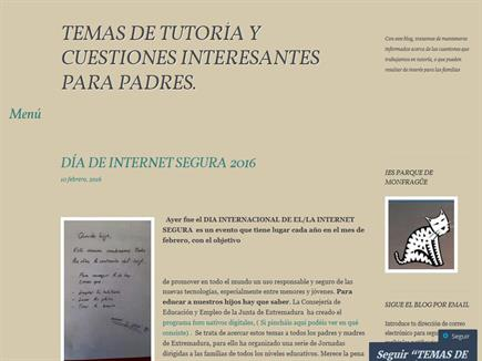 TUTORÍAS Y TEMAS INTERESANTES PARA PADRES