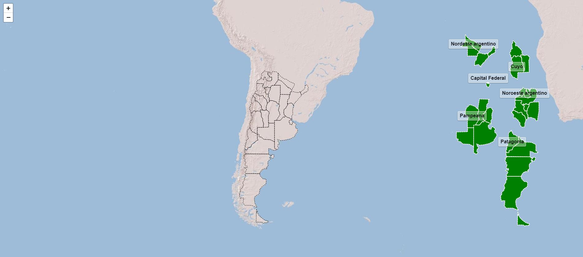 Regiones de Argentina