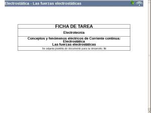 Electrostática - Las fuerzas electrostáticas