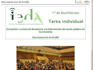 Una nueva voz en Ecofin