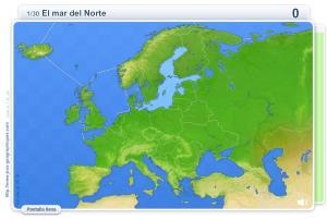 Geografía física de Europa. Juegos geográficos