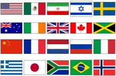 World country flags (JetPunk)