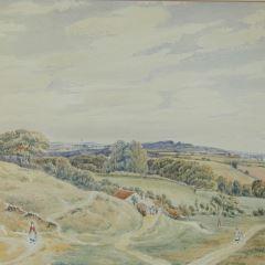 Vista del entorno de Rusthall, Kent (Inglaterra)