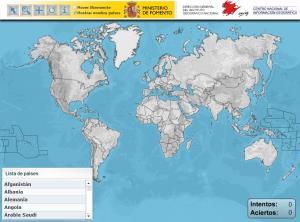 Países del Mundo. Puzzle (IGN de España)