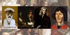 História da ciência: cientistas