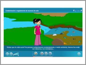 Contaminación e esgotamento dos recursos do solo