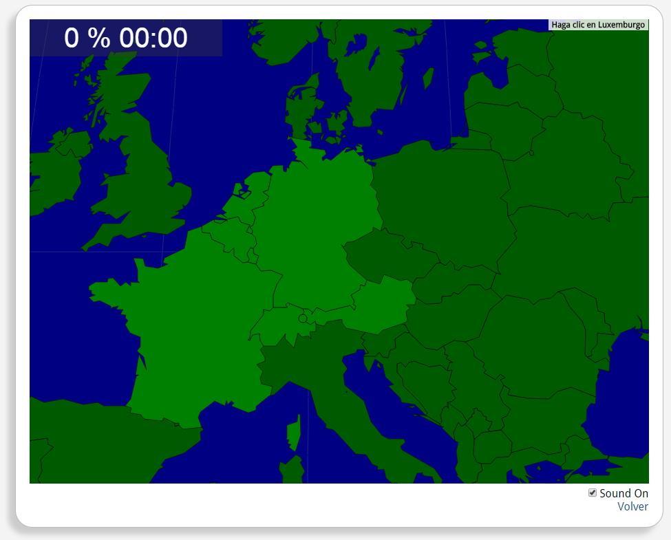 Westeuropa: Länder. Seterra
