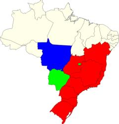 Brazil states map (JetPunk)