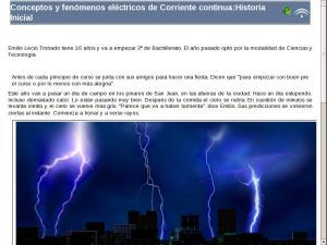 Conceptos y fenómenos eléctricos de Corriente continua: Elementos comunes de la unidad