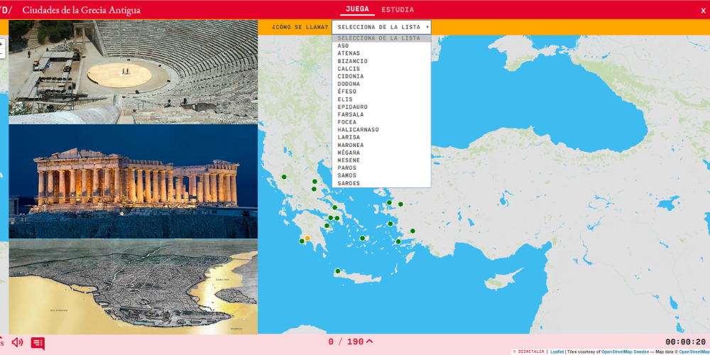 Ancient Greek cities