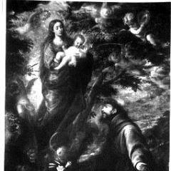 Aparición de la Virgen a San Francisco de Asís