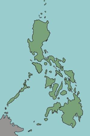 Islands of Philippines. Lizard Point