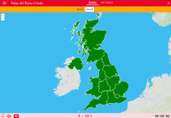 Os países constituíntes do Reino Unido