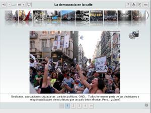 La democracia en la calle