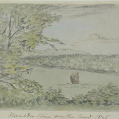 La piedra de la batalla de Homilden (Inglaterra)