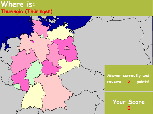 States of Germany. Ilike2learn