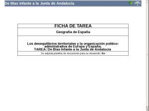 De Blas infante a la Junta de Andalucía