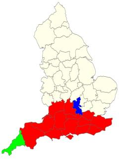 Counties of England map (JetPunk)