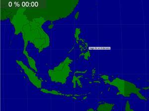 Países de Asia Sudoriental. Seterra
