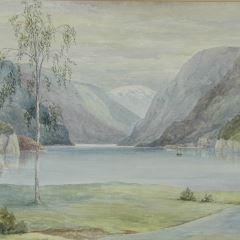 Vista de Eide Hardanger (Noruega)