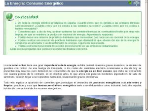 La Energía: Consumo Energético