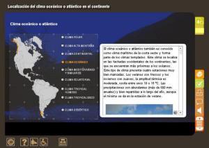 AMÉRICA, DISTRIBUCIÓN CLIMÁTICA DEL CONTINENTE