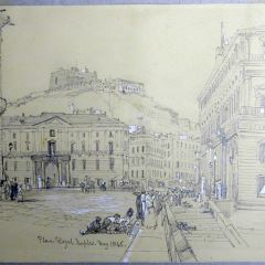 Plaza Real de Nápoles (Italia)