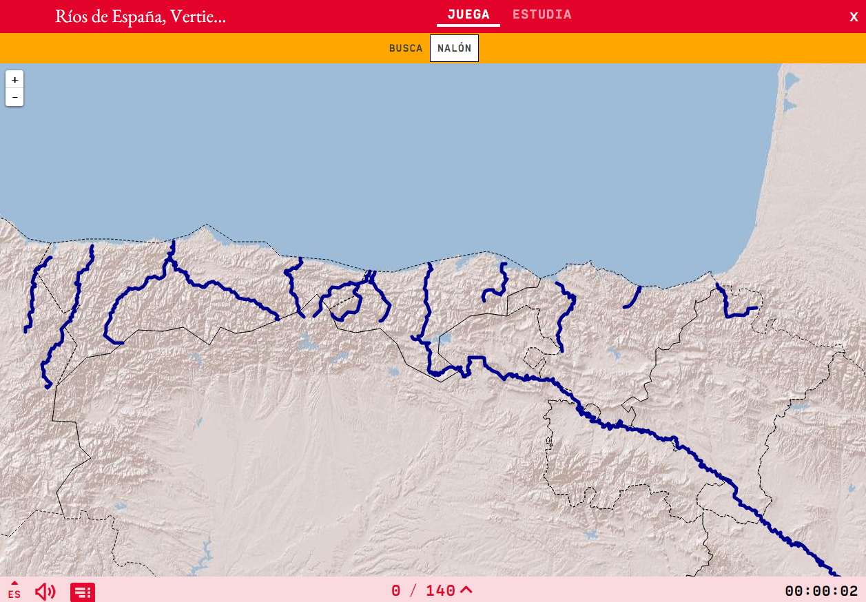Rivers of Spain, Western cantabria.