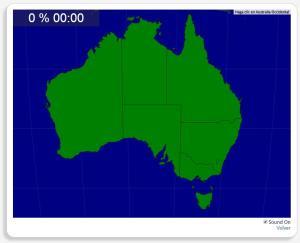 Australia: Estados y Territorios. Seterra