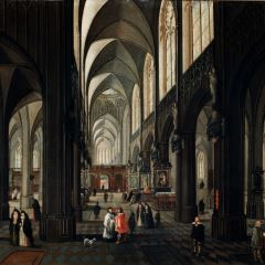 Interior de catedral