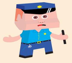 Gustavo, el policía local
