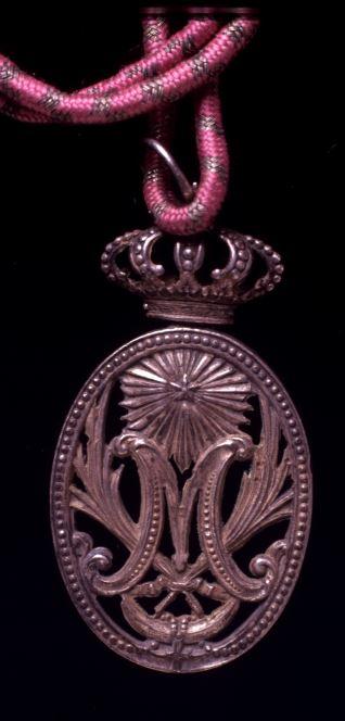 Medalla de cofradía religiosa