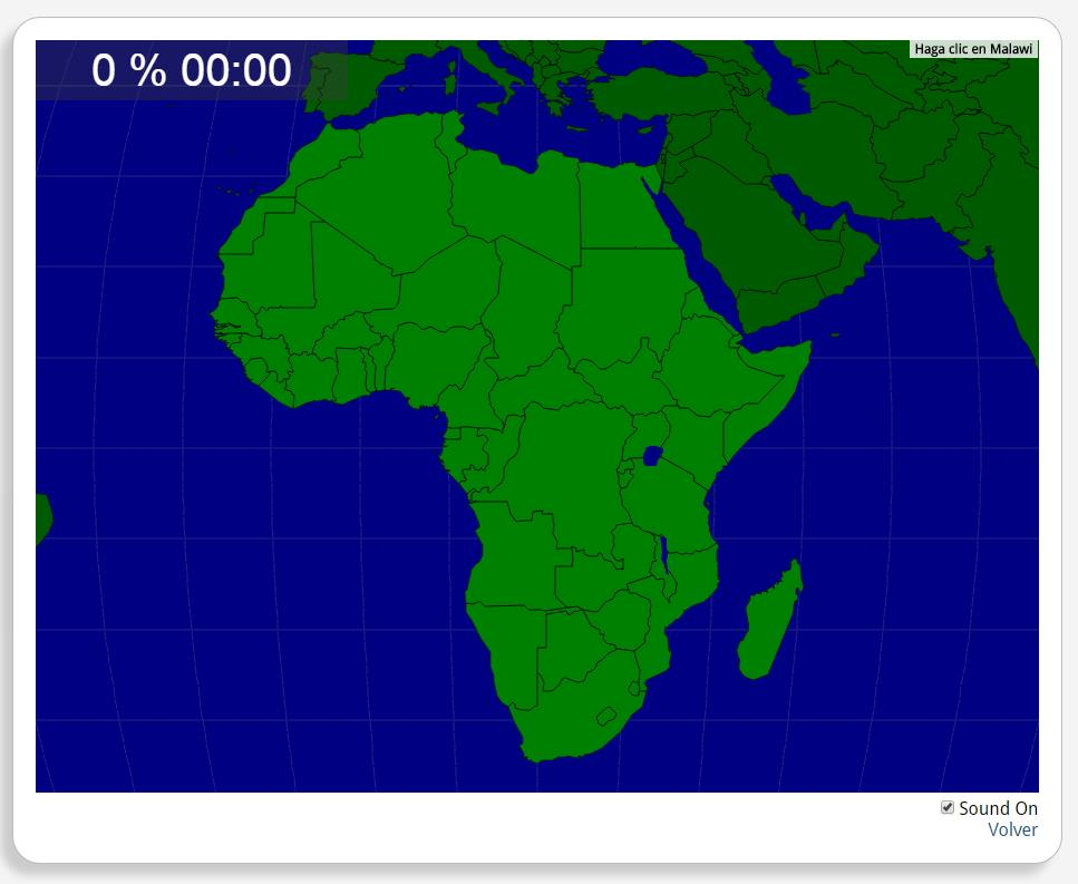 Afrika: Länder. Seterra